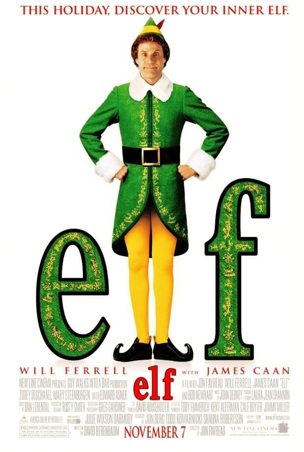 Locandina Elf – Un Elfo Di Nome Buddy