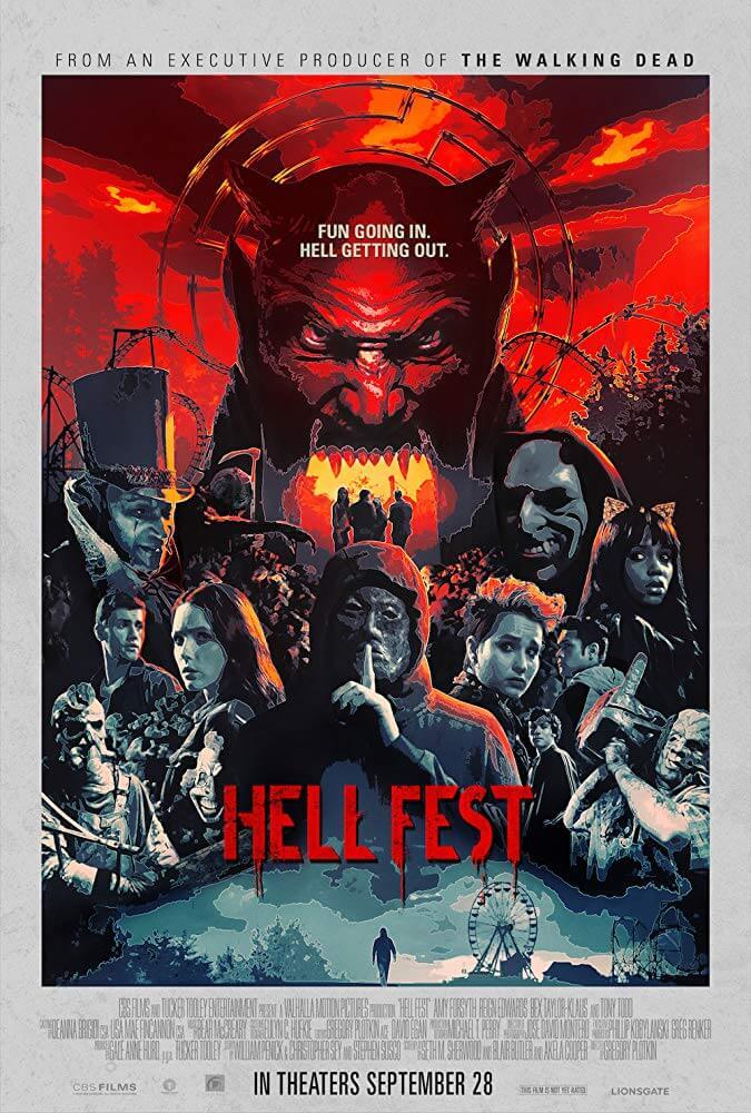 Locandina Hell Fest