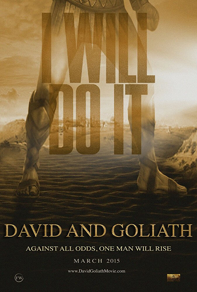 Locandina Davide e Golia