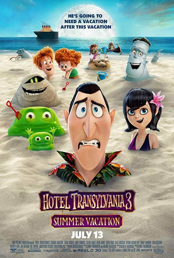 Locandina Hotel Transylvania 3: Una Vacanza Mostruosa