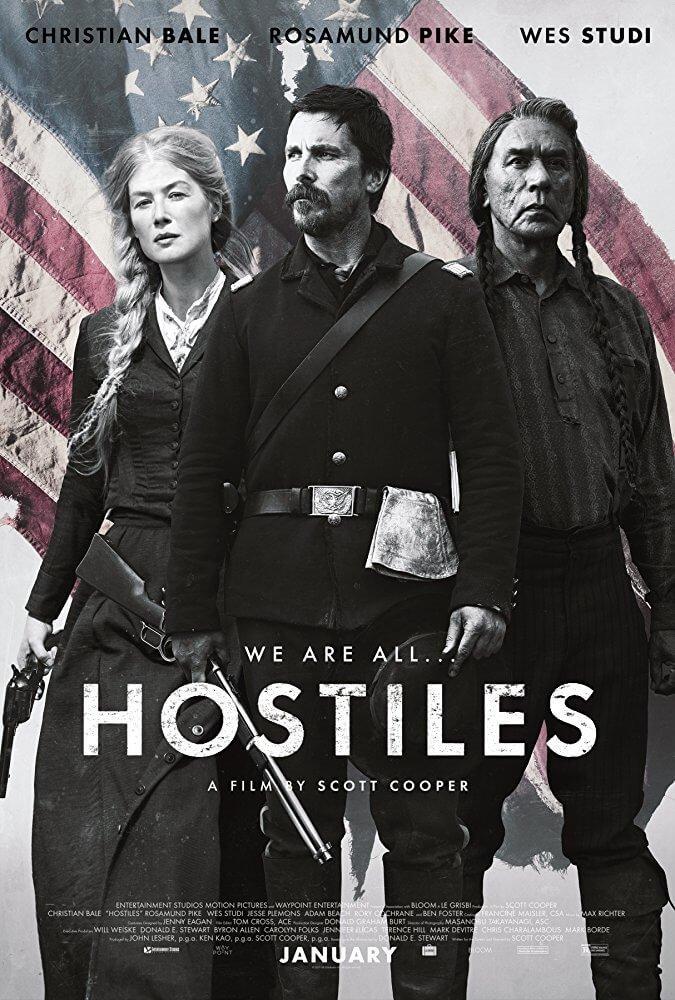 Locandina Hostiles – Ostili