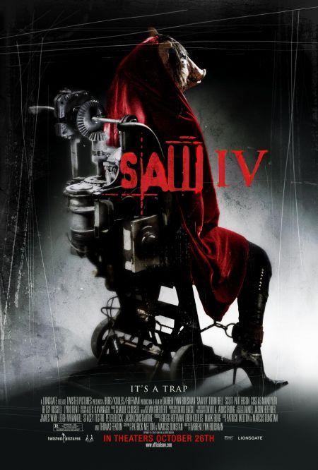 Locandina Saw IV