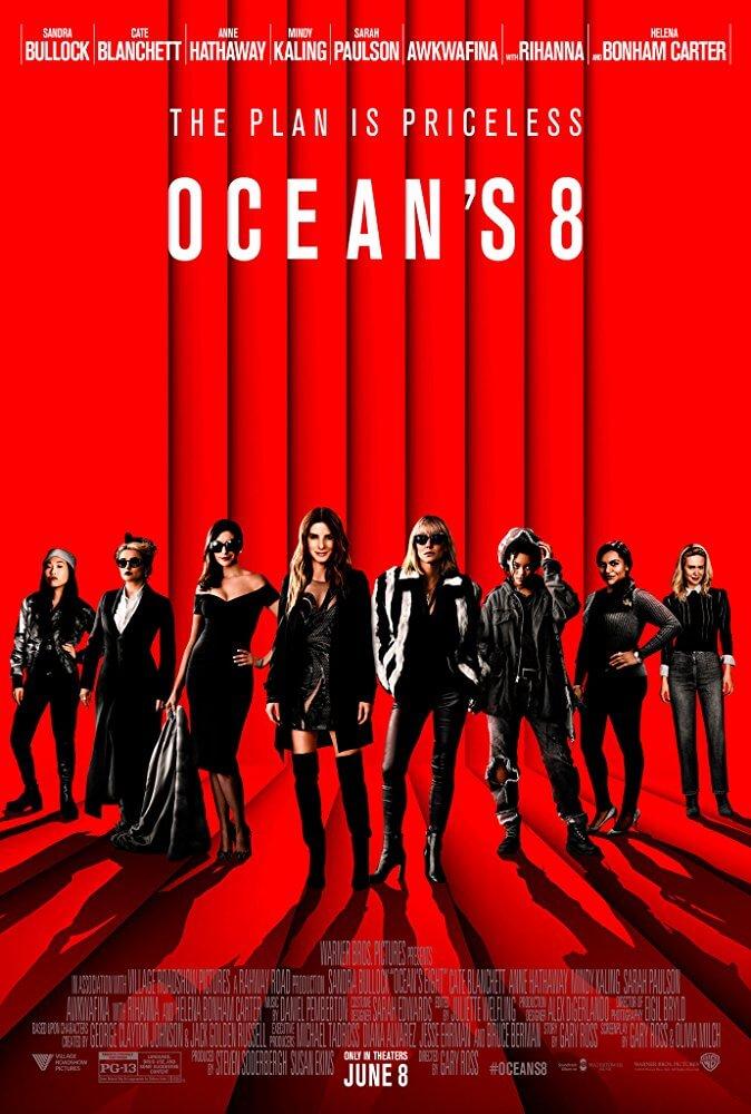 Locandina Ocean's 8