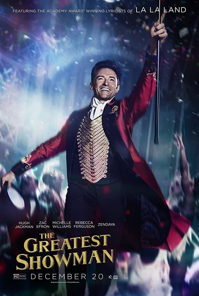 Locandina The Greatest Showman