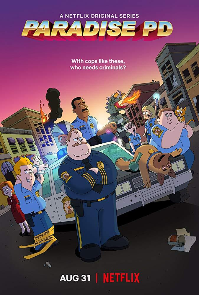Locandina Paradise Police