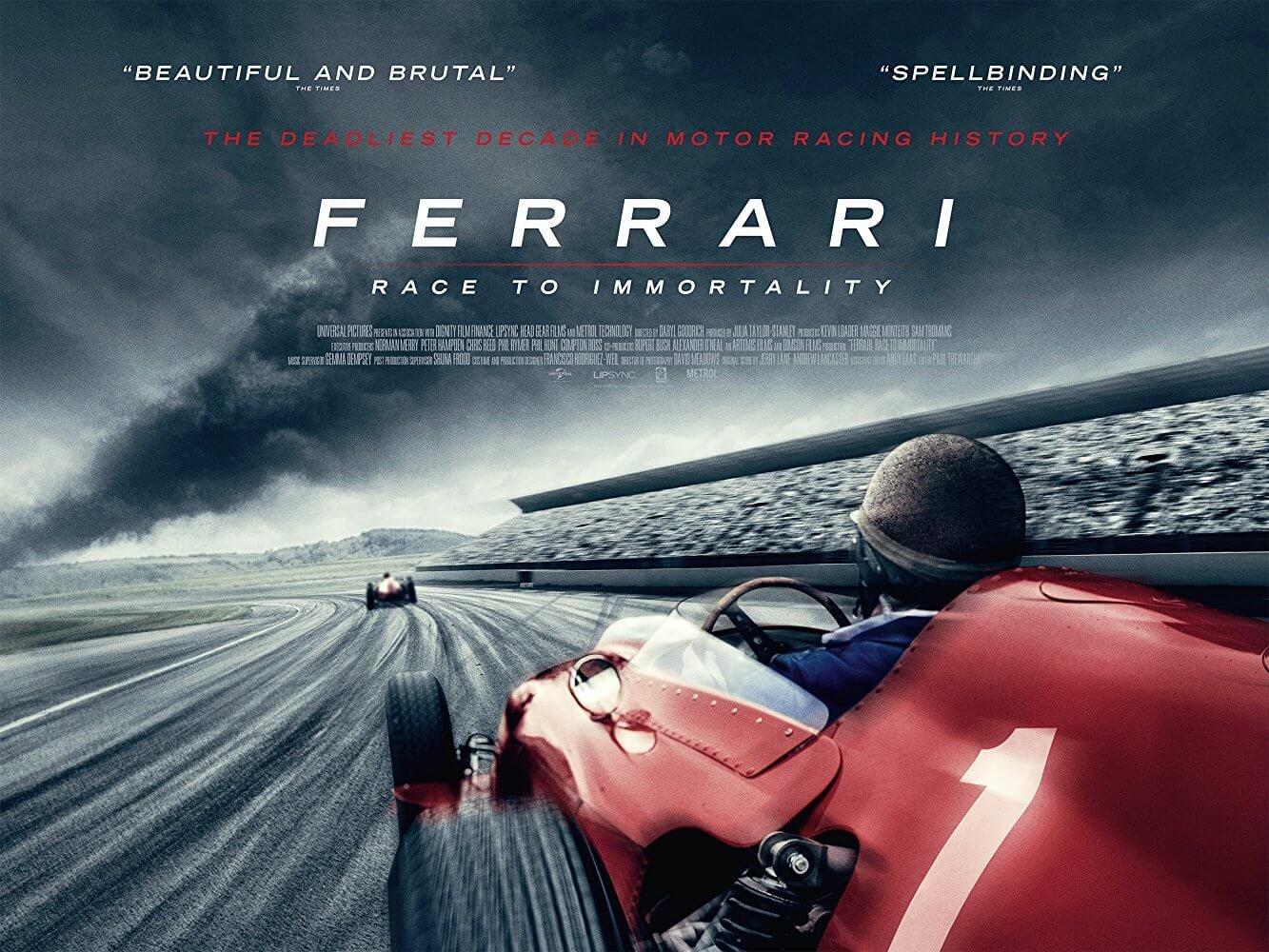 Locandina Ferrari: Un Mito Immortale