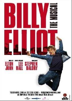 Locandina Billy Elliot – Il musical live