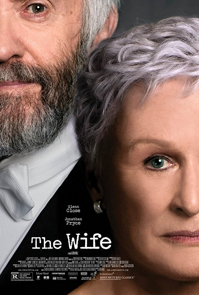 Locandina The Wife: Vivere nell'ombra