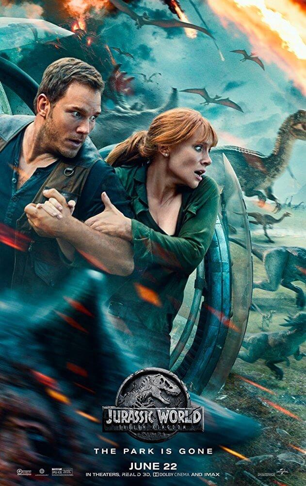 Locandina Jurassic World: Il Regno Distrutto