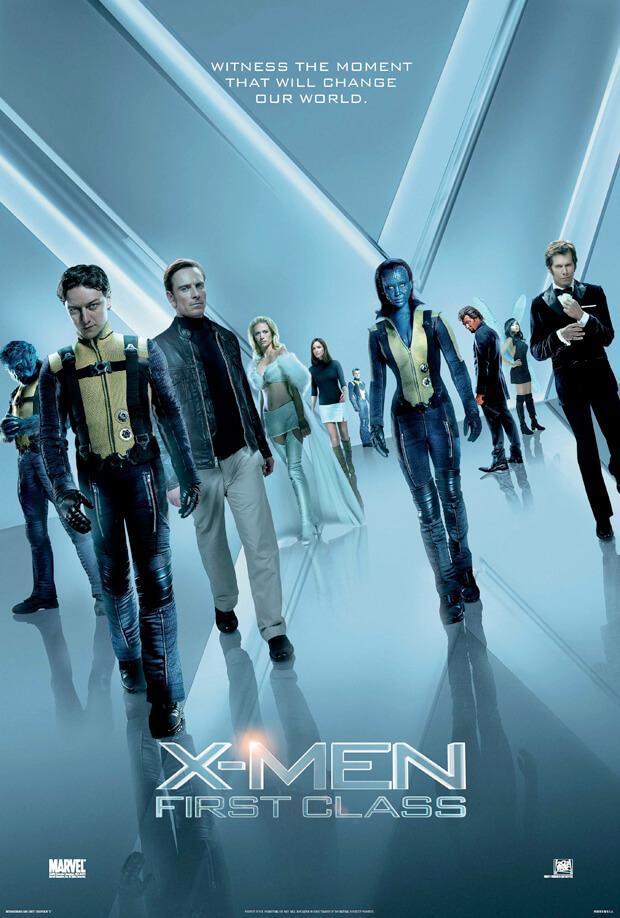 Locandina X-Men: L'inizio
